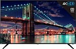 "75"" TCL 75R615 6 Series 4K UHD HDR Roku Smart LED HDTV $1,300 and more"