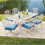 Hampton Bay Alveranda 7-Piece Metal Outdoor Dining Set $399 (43% Off) & More + Free Shipping