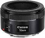 Canon EF 50mm f/1.8 STM Lens (International Version) $73