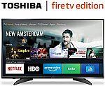 Toshiba 43LF621U19 43-inch 4K Ultra HD Smart LED TV HDR - Fire TV Edition $189