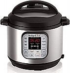 Instant Pot DUO60 6 Qt 7-in-1 Multi-Use Programmable Pressure Cooker $10