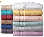 JCPenney Bath Towels: Home Expressions Solid or Stripe $3.49, Liz Claiborne Signature Plush $6.99 & More