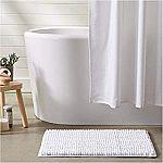 2-Pack AmazonBasics Chenille Loop Bath Mat $5