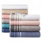 Home Expressions Solid or Stripe Bath Towel 9 for $16.90 ($1.87 each)
