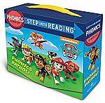 Paw Patrol Phonics Step into Reading Box Set (Paperback) $5.36