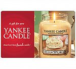$50 Yankee Candle Gift Card $40