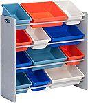 Honey-Can-Do Kids Toy Organizer and Storage Bins $39