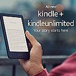 All-new Kindle - Includes Special Offers + 3 Months Free Kindle Unlimited $69.99