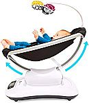 4moms mamaRoo 4 Bluetooth-Enabled high-tech Baby Swing $123