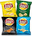40 Count Lay's Potato Chips Variety Pack, 1 oz Bags $10.29