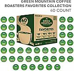 40-Count Green Mountain Variety Pack Favorites K-Cup Pods $13 (Amazon Prime Only)