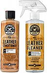 Chemical Guys Leather Cleaner and Conditioner Complete Leather Care Kit $11.89 (Org $20)