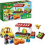LEGO DUPLO Town Farmers' Market 10867 Building Blocks $12 (40% Off)
