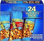 24-Count Planters Nuts (Variety Pack) $5.78 or Less