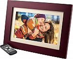 "Insignia - 10"" Widescreen LCD Digital Photo Frame - Espresso $44.99"