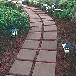 """Square Gray Concrete Patio Stone (11.7"""" x 11.7"""") $1"""