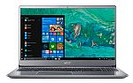 "Acer Laptop Swift 3 15.6"" Laptop (i7-8550U, 8GB, 256GB SSD) $549.99"