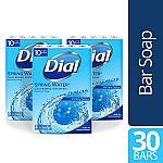 30-Count Dial Antibacterial Bar Soap (Spring Water) $9.15