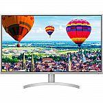 "32"" LG 32QK500-W 2560x1440 IPS Monitor $218 & More"