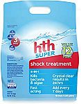 12 Pack - hth Pool Shock Super Shock Treatment 4-in-1 $25.38