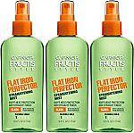 3 Pack - Garnier Fructis Style Flat Iron Perfector Hair Straightening Mist $7.62