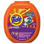 81-Count Tide Pods HE Laundry Detergent Pacs (Various) $13.97