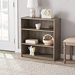 Set of 2 Mainstays 3-Shelf Bookcases $19.98