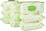 720 Count Amazon Elements Baby Wipes, Fresh Scent, Flip-Top Packs $8.81