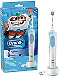 Oral-b Kids Electric Rechargeable Toothbrush With Sensitive Brush Head and Timer $21.80 + Free Shipping