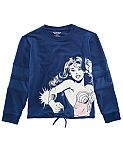 Girls' Wonder Women Crewneck Top $5, Boys' LEGO Darth Vader Hoodie $5 and more