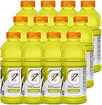 Gatorade Thirst Quencher Lemon-Lime, 20 Ounce Bottles (Pack of 12) $6.37