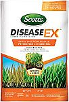 Scotts DiseaseEx Lawn Fungicide, 10 LB - Lawn Disease Prevention and Control for Brown Patch, Yellow Patch, Stem and Stripe Rust, Red Thread, and More $11 (orig. $19)