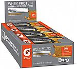 12-Count Gatorade Whey Protein Bars w/ Almond Butter (Salted Caramel) $8