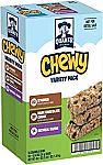 58-Count Quaker Chewy Granola Bars (Variety Pack) $5 or Less