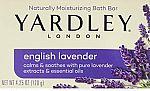 Yardley London English Lavender with Essential Oils Soap Bar $0.90