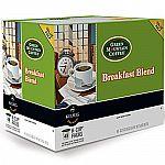 48-Count Keurig Green Mountain Coffee Breakfast Blend K-Cups $9.99
