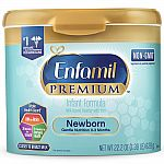 22.2-oz Enfamil Newborn PREMIUM Infant Formula Powder Single $14.50; 4-Pack $58