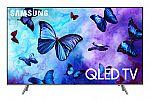 """SAMSUNG 65"""" Class 4K (2160P) Ultra HD Smart QLED HDR TV QN65Q6FN $899"""
