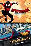 Spider-Man: Into The Spider-Verse / Spider-Man: Homecoming $9.99