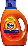 100-oz Tide HE Turbo Clean Liquid Laundry Detergent (Original Scent) $9.97