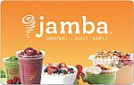 $15 Jamba Juice Gift Card (Email delivery) $10