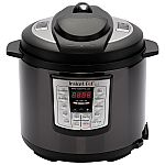 Instant Pot LUX60 6 Qt 6-in-1 Multi-Use Programmable Pressure Cooker (Black Stainless Steel) $49.88