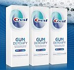 3-Pk of 4.1-oz Crest Gum Detoxify Deep Clean Toothpaste $10