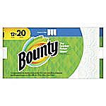 12-Pack Bounty Select-A-Size 2-Ply Paper Towels Mega Rolls $12.98 (with Store Pickup)