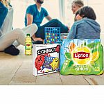 24-Pack of Lipton Iced Tea + Board Game (Clue or Connect Four) $8.96