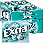 10-Pack EXTRA Gum Polar Ice Sugarfree Gum $4.89