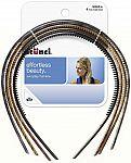 4-Ct. Scunci Effortless Skinny Plastic Headbands (Assorted) $1.21 & More