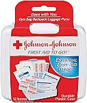 Johnson & Johnson First Aid To Go Kit $0.99