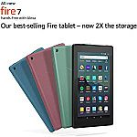 "Pre-Order All-New Fire 7 Tablet (7"" display, 16 GB) $49.99 + Get $10 Appstore credit"