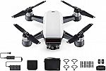DJI Spark Fly More Combo (Mini Drone, Wi-Fi - Alpine White) $463.50